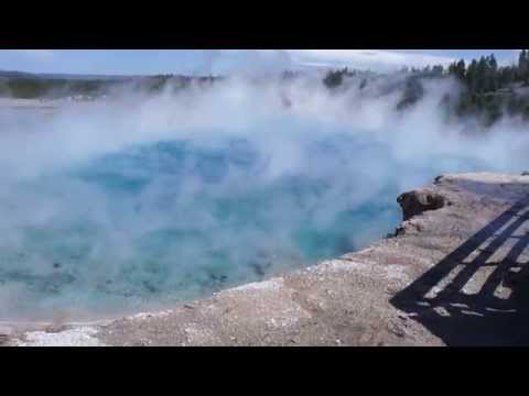 Excelsior Geyser Crater in Yellowstone National Park (Sept 2015)