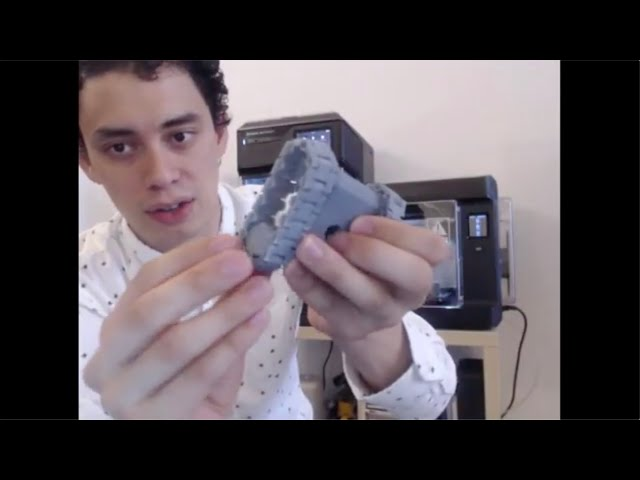 MakerBot Chats [ep 18] Print-in-Place Assemblies with Makerbot Sketch