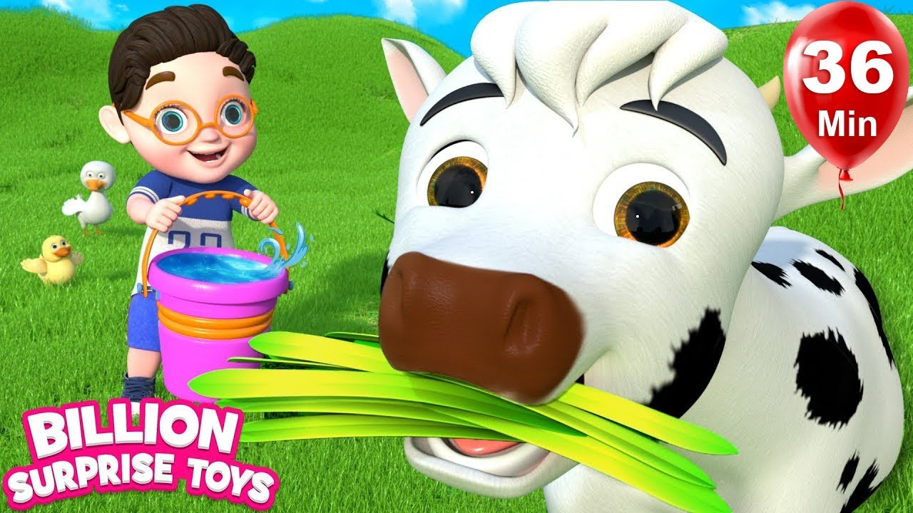 பழைய மெக்டொனால்ட் | Tamil Rhymes for Children Collection - BillionSurpriseToys