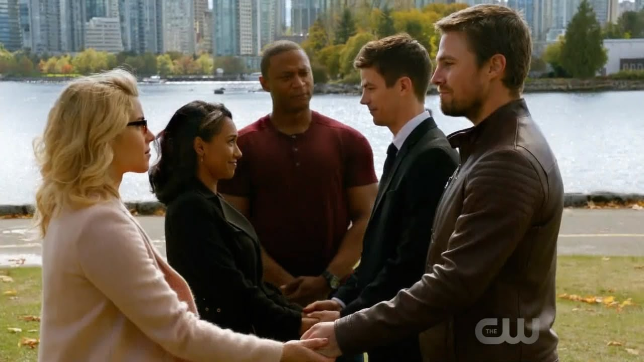DC's Legends of Tomorrow 3x08 Ending: Crisis on Earth X Part 4