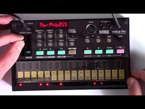 Korg Volca FM Demo - Sounds / Loops