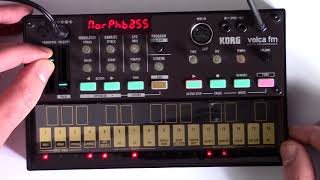 Korg Volca FM Demo - Sounds / Loops