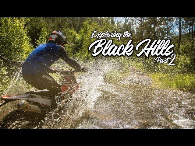 Exploring the Black Hills Part 2 / Beta 300 RR / MotoGeo Adventures
