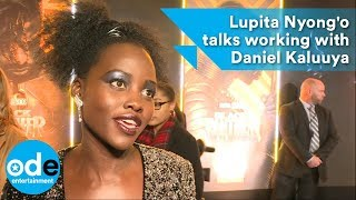 Lupita Nyong'o talks working with Daniel Kaluuya