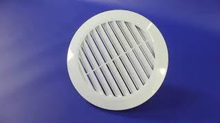 Обзор вентиляционной решетки. Установка на натяжной потолок от компании Аста М
