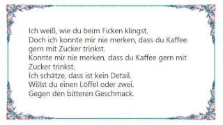 Laing - Mit Zucker Lyrics