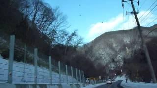 函館南茅部線(83号)川汲峠付近(ステディカム車載)ドライブレコーダー