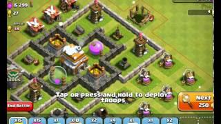 Clash Of Clans - Town Hall 6 Raid Plus Farming Base