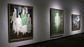 東京都美術館 日本美術院再興100年 特別展「世紀の日本画」 夢見るテレーズ 検索動画 26