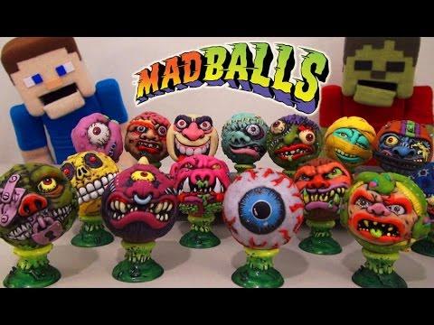 MadBalls KidRobot Blind Box Vinyl Mini Series 1  exclusive Unboxing - Puppet Steve