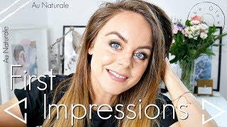Au Naturale First Impressions / Chatty GRWM