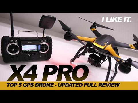I LIKE IT  - HUBSAN X4 PRO H109s Drone, Review - GOPRO COMPATIBLE Drone UPDATED