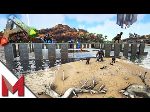 STARTING THE NEW EPIC BASE -=- ARK: SURVIVAL EVOLVED GAMEPLAY / MYSTIC ACADEMY -=- S1E16