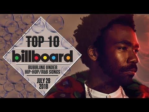 Top 10 • US Bubbling Under Hip-Hop/R&B Songs • July 28, 2018 | Billboard-Charts