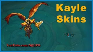 All Available Kayle Skins (League of Legends)
