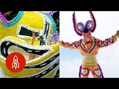 Dominican Republic's Tradition of Mask Making