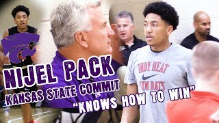 KANSAS STATE COMMIT Nijel Pack Proves to Be One Of Nations Top Point Guard | ESPN #80