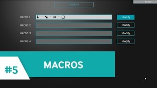 Nacon REVOLUTION #5: Create your macros