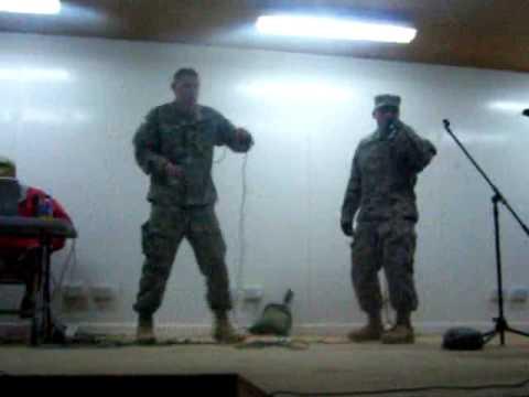 Army Karaoke Baby Got Back