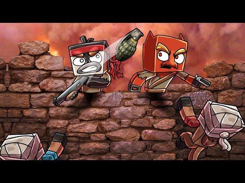 Army Of Raiders SIEGE My Base! (Minecraft Apocalypse)