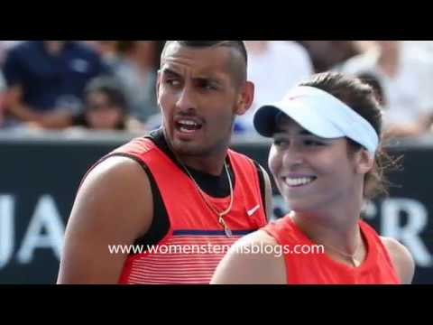 Nick Kyrgios and girlfriend Ajla Tomljanovic Tennis Couples