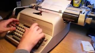 Schreibmaschine ADLER Universal 40 / пишущая машина АДЛЕР Универсал 40