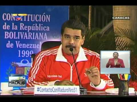 En Contacto Con Maduro #51, parte 2/17, Consejos Presidenciales (intro)