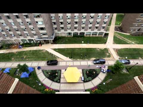 West Chester University Move-In Day 2014