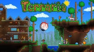 """Terraria Part 2 PS4 """"Life Crystal?"""" No Commentary"""