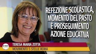 Zotta: Refezione scolastica, momento del pasto è proseguimento azione educativa