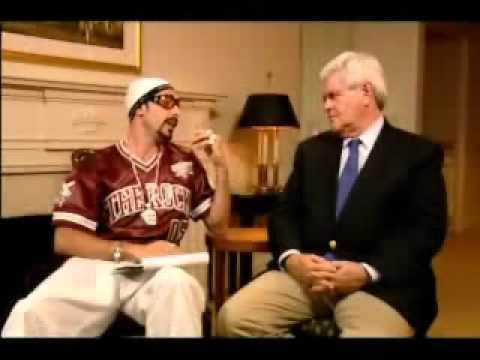 Ali G - Newt Gingrich