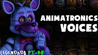 Ultimate Custom Night: Animatronics Voices (Legendado PT-Br)