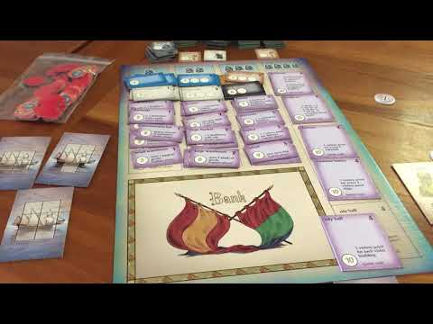 Board Game Reviews Ep #31: PUERTO RICO