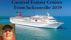 Carnival Ecstasy Cruises From Jacksonville 2019