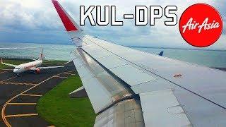 Air Asia Airbus A320-216 Landing in Denpasar, Bali