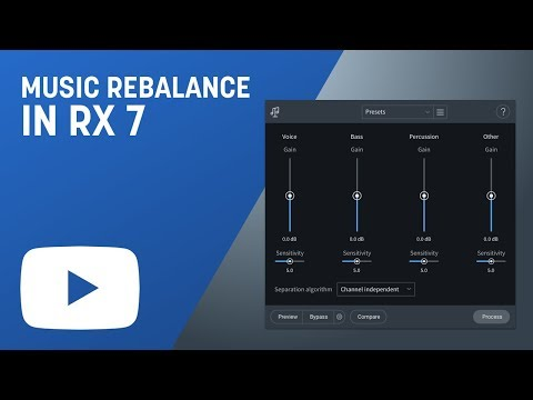 How to Use Music Rebalance in RX 7