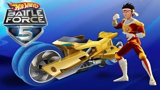 #9 Hot Wheels Battle Force 5 - Video Game - Gameplay - Videospiel - Game - Movie For Kids