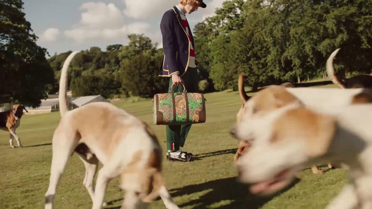 ffb58a9d4 Gucci Cruise 2017: Bengal Duffle Bag - YouTube