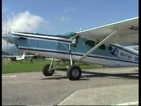 Pilatus Porter PC-6 STOL Demo