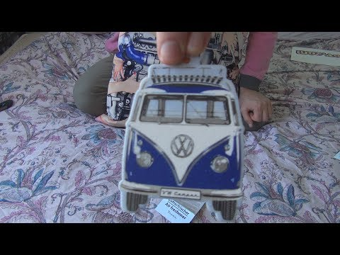 Unboxing and test of BRISA Volkswagen Transporter VW T1 Bus Camper Ocean Air Freshener