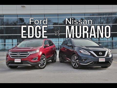 2016 Ford Edge vs 2016 Nissan Murano