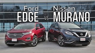 2016 Ford Edge vs 2016 Nissan Murano