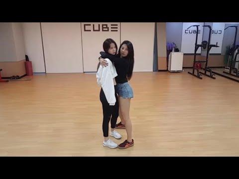 Seungyeon & Yujin (CLC) Dancing On Superlove By Tinashe