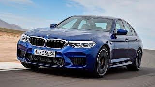 BMW M5 2018 Быстрейшая в классе а, немцы раскритиковали Lada Vesta