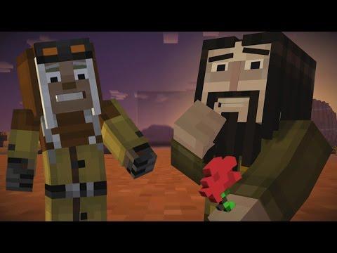 IVOR is in LOVE With HARPER ! | Minecraft Story Mode