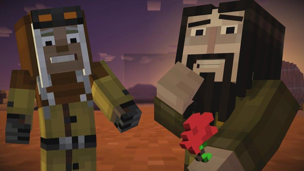 What Came True Minecraft Story Mode Ivor X Harper Old