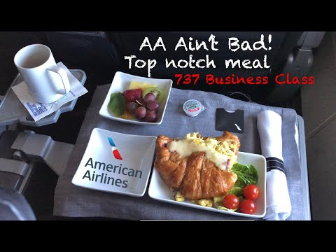 CULTURE SHOCK | AMERICAN Airlines B737 BUSINESS Class Toronto to Dallas (AA1169)