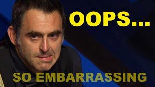 Snooker Fails | World Championship 2020