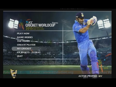 EA CRICKET ICC WORLDCUP 2015 CRICKET GAMEFULL HD GAME PLAY