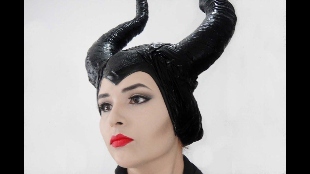 Diy Como Hacer Los Cuernos De Malefica Maleficent Horns